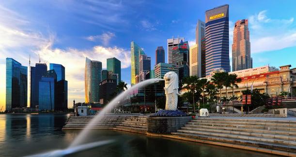 singapore-city-merlion